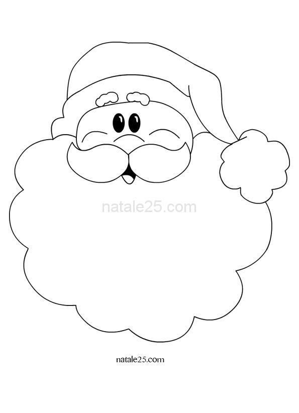 Babbo Natale sorridente