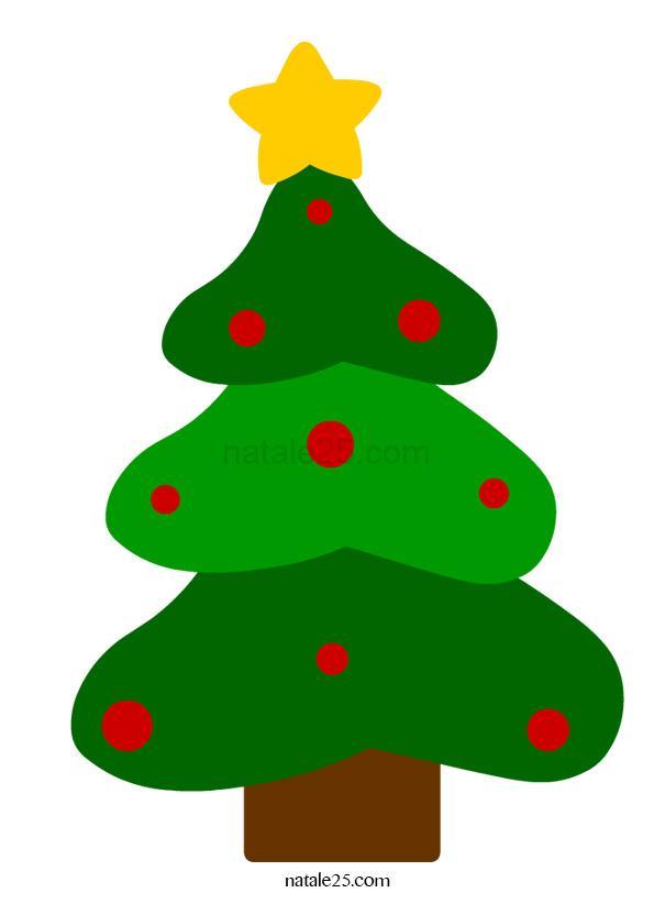 Albero di Natale da ritagliare