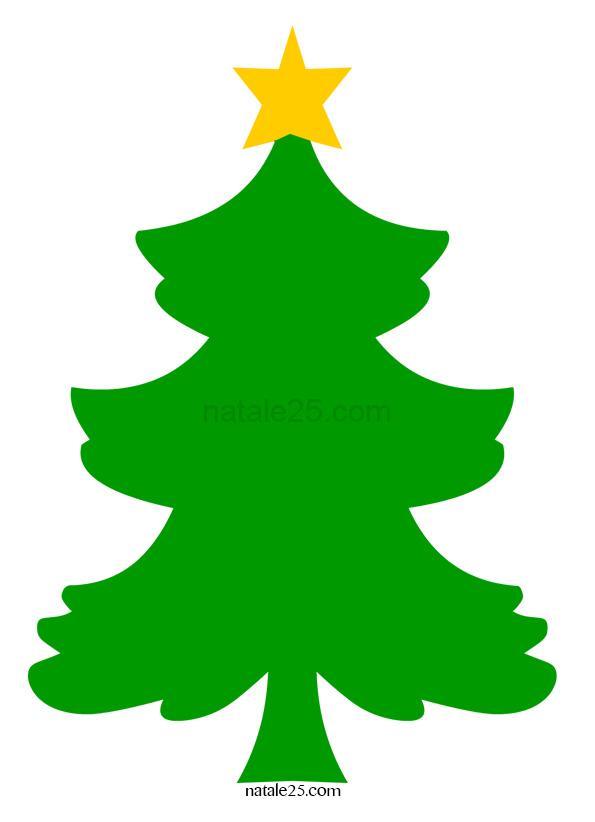 Albero di Natale con stella