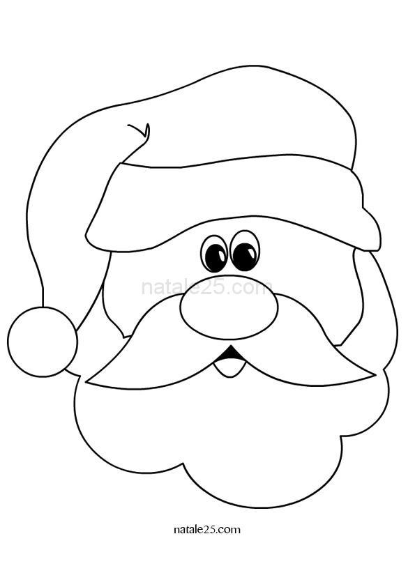 Disegni di Natale – Babbo Natale