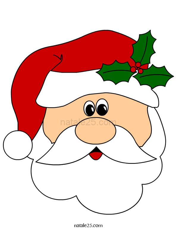 Babbo Natale da ritagliare