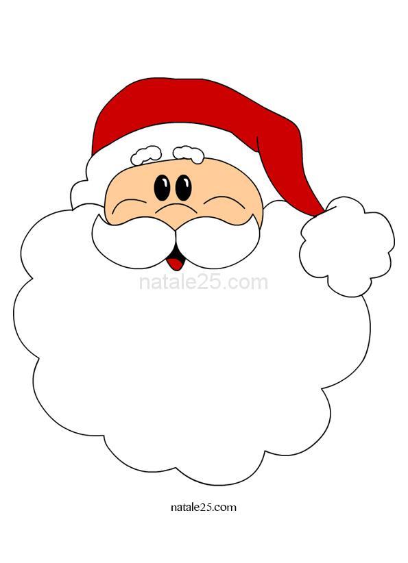 Babbo Natale: immagine a colori