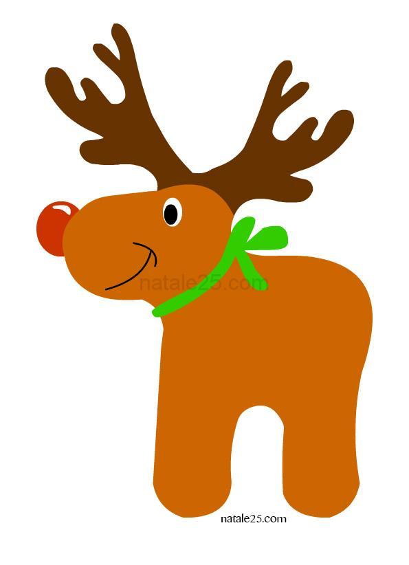 Renna Di Babbo Natale Natale 25