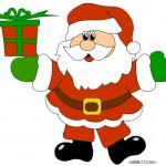 Babbo Natale a colori