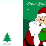 Biglietti di Natale con Babbo Natale 1