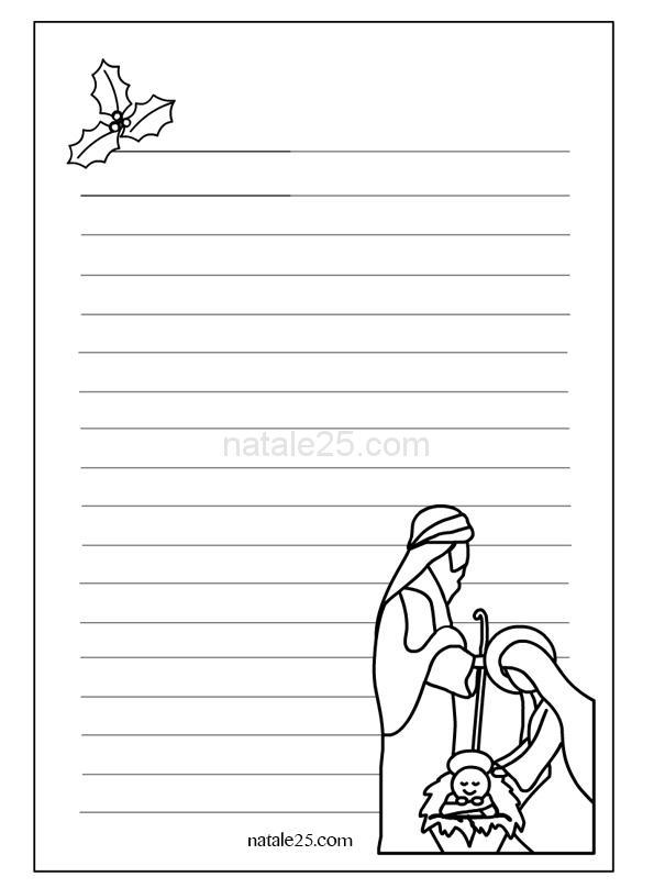 Letterina babbo natale da stare tutto disegni letterine di for Floorplan com