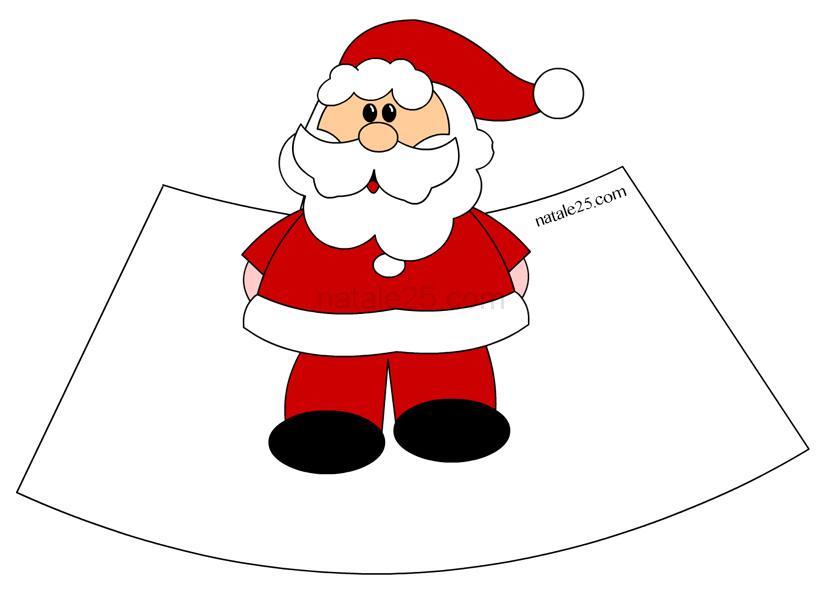 Babbo Natale Lavoretti.Babbo Natale 3d Natale 25
