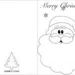 Biglietti di Natale in inglese – Babbo Natale
