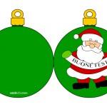 Biglietti da stampare – Babbo Natale