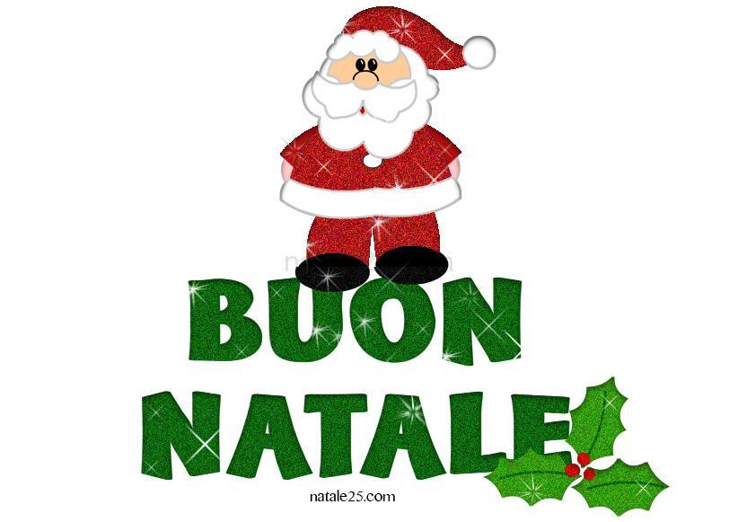 Immagini Con Scritte Di Buon Natale.Scritta Buon Natale Glitter Natale 25