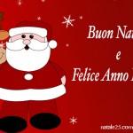 Cartolina Buon Natale e Felice Anno Nuovo
