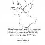 Frase sul Natale di Papa francesco