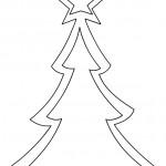 Cartamodelli Natalizi Albero di Natale