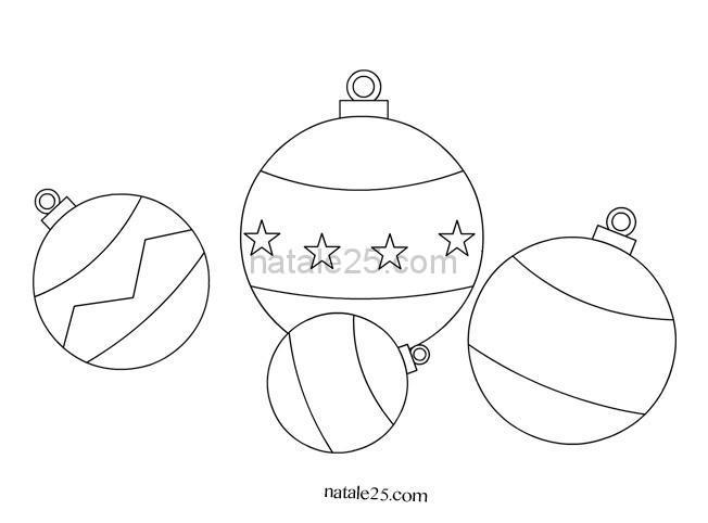 Palline albero di Natale