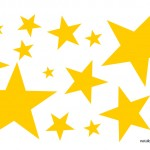 Stelle gialle clipart