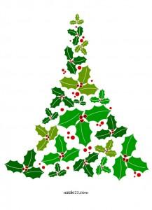 Natale 25 letterine biglietti lavoretti disegni per for Agrifoglio immagini