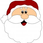 Babbo Natale immagine da stampare
