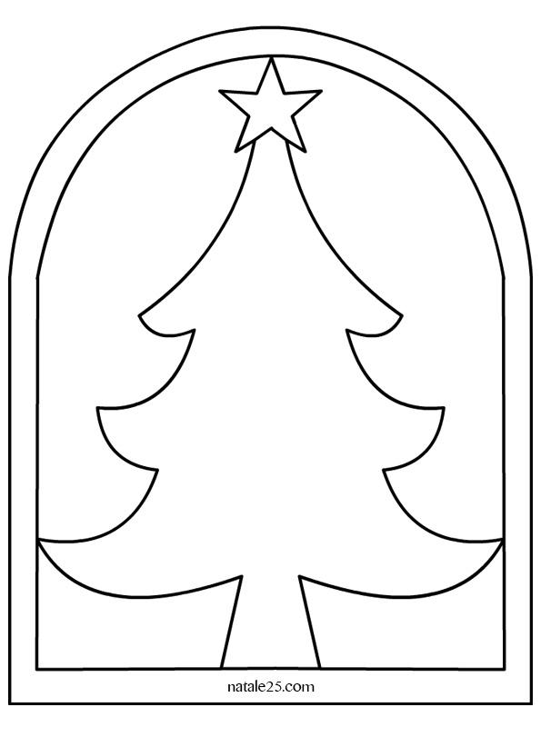 Addobbi aula scuola albero di natale natale 25 - Addobbi natalizi per finestre scuola infanzia ...