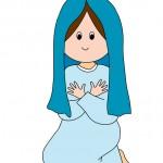 Presepe Maria di Nazaret