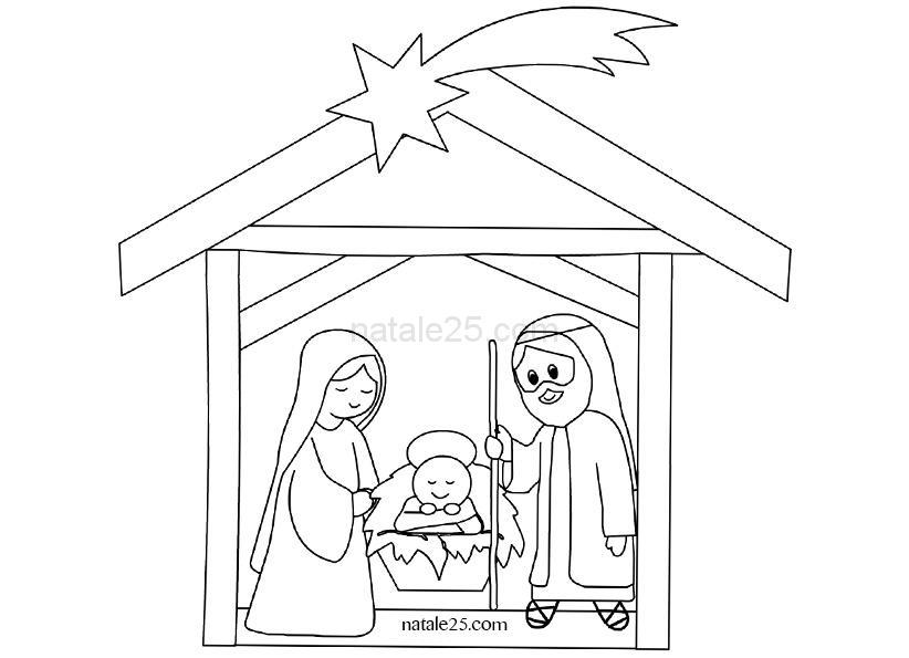 Disegni di Natale per bambini