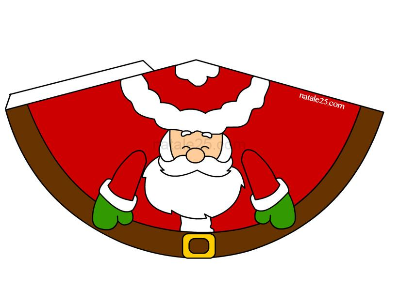 Lavoretti di Natale Babbo Natale 3D