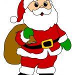Immagine di Babbo Natale con sacco