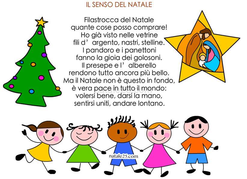 Per Tutto Il Mondo E Natale.Filastrocca Il Senso Del Natale Natale 25