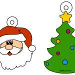 Addobbi di Natale di carta