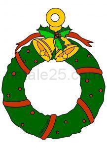 Natale 25 letterine biglietti lavoretti disegni per for Addobbi natalizi maestra mary
