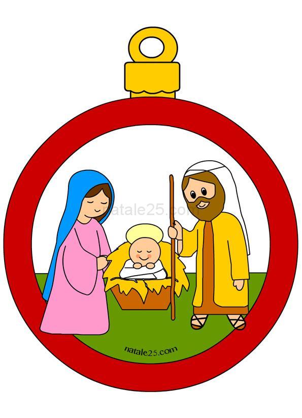 Pallina Di Natale Con Angelo Da Colorare Natale 25