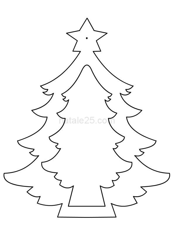 Decorazione a forma di albero di Natale