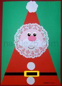 Natale 25 letterine biglietti lavoretti disegni per for Addobbi natale scuola primaria
