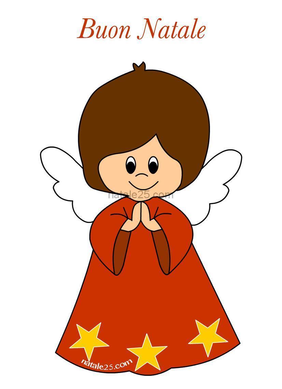 Disegni da colorare di natale angeli for Immagini da colorare di angeli