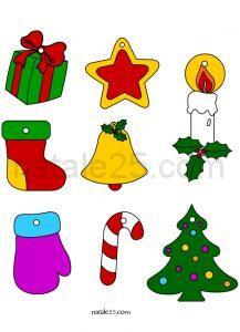 Natale 25 letterine biglietti lavoretti disegni per - Agrifoglio immagini a colori ...