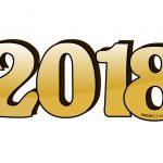 Numero 2018 in 3D