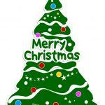 Decorazioni di Natale per finestre Albero di Natale