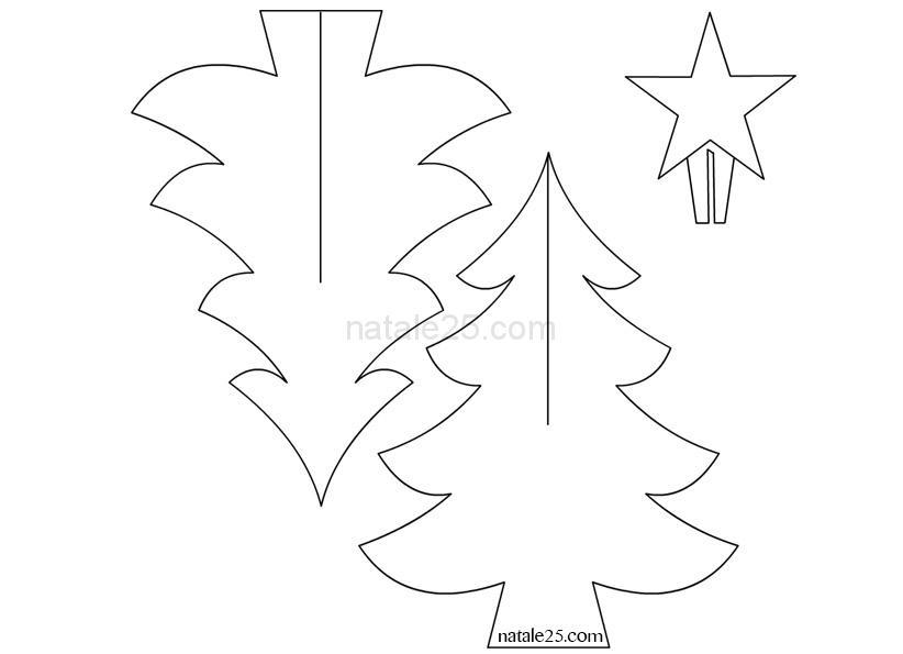 Albero Di Natale 3d.Alberi Di Natale 3d Natale 25