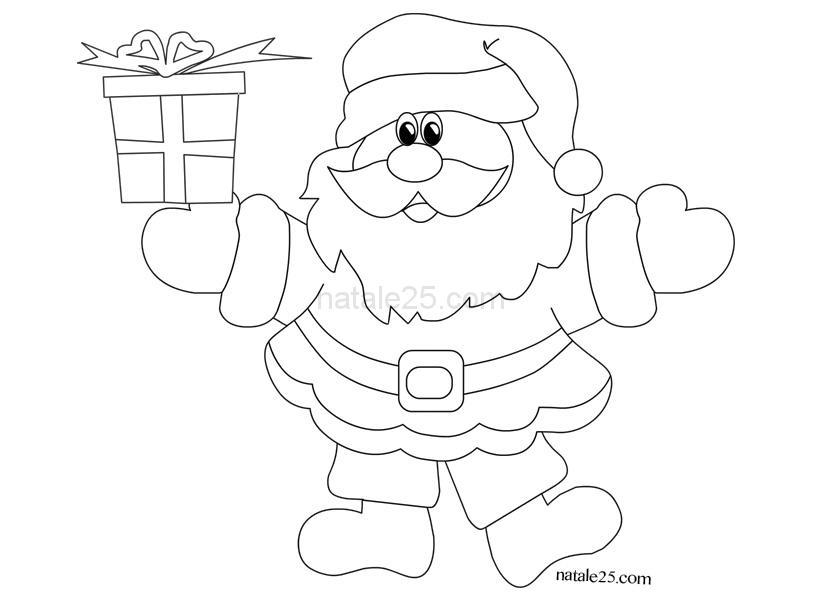 Bambini Babbo Natale Disegno.Disegni Immagini Di Babbo Natale Per Bambini Immagini