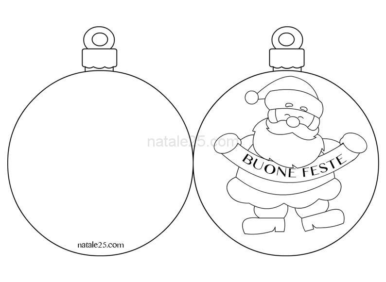 Biglietti Per Regali Di Natale Da Stampare.Biglietto Di Natale Da Colorare Natale 25
