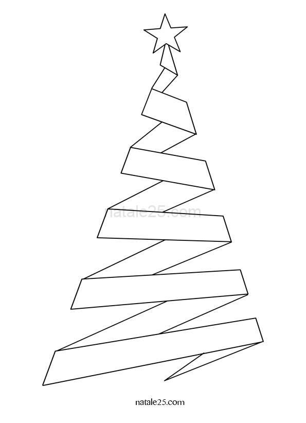 Alberi Di Natale Stilizzati Immagini.Albero Di Natale Stilizzato Natale 25