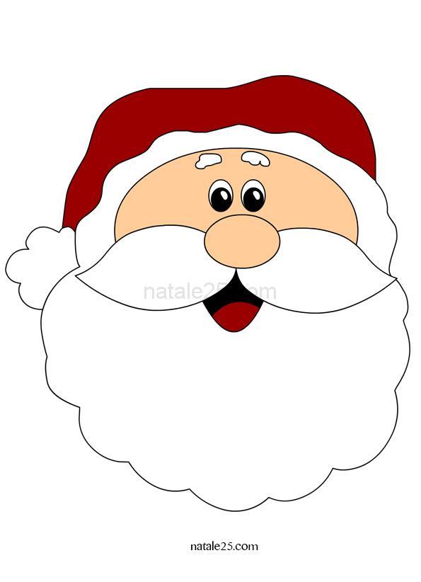 Immagini Da Stampare Babbo Natale.Babbo Natale Immagine Da Stampare Natale 25