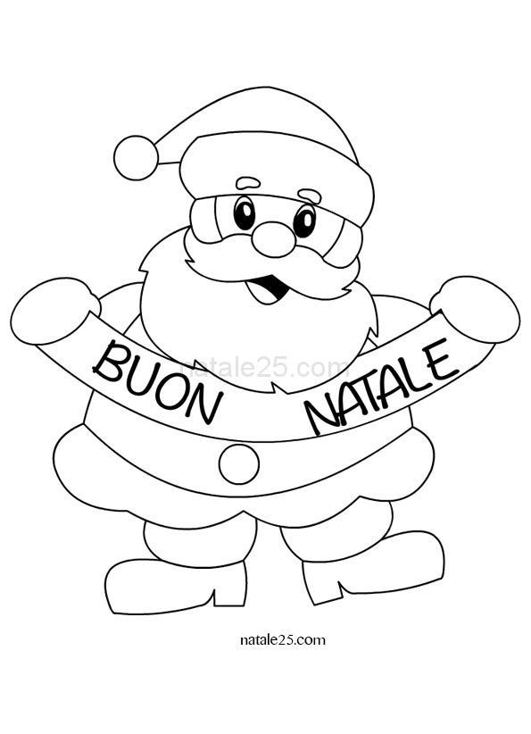 Bambini Babbo Natale Disegno.Disegni Di Natale Per Bambini Babbo Natale Natale 25