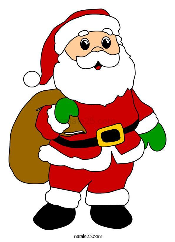 Immagini Colorate Di Babbo Natale.Foto Di Babbo Natale Da Scaricare Bigwhitecloudrecs