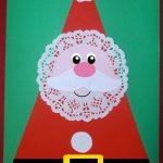 Biglietto di Natale con Babbo Natale