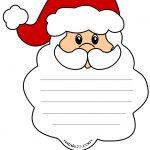 Letterina per bambini a forma di Babbo Natale