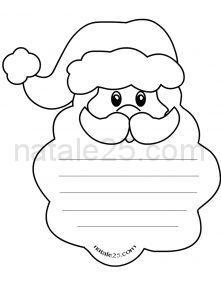 Natale 25 Letterine Biglietti Lavoretti Disegni Per Le