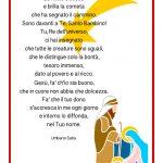 Poesia di Natale A Gesù Bambino
