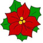 Stella di Natale di carta per addobbi aula