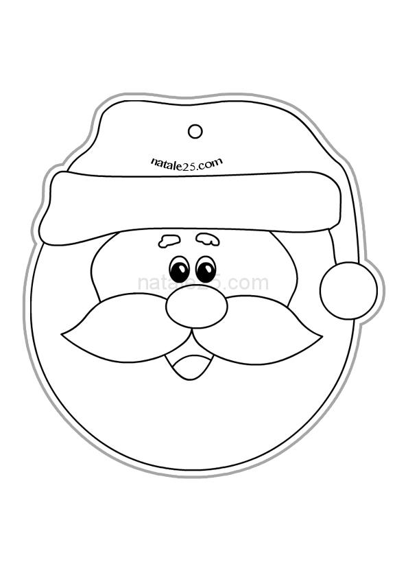 Pallina Di Natale Di Carta Per Bambini Da Colorare Natale 25