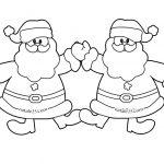 Decorazioni Natale per aula scuola con Babbo Natale